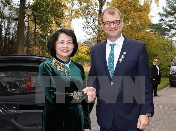 Le Premier ministre finlandais veut renforcer les liens multiformes avec le Vietnam hinh anh 1