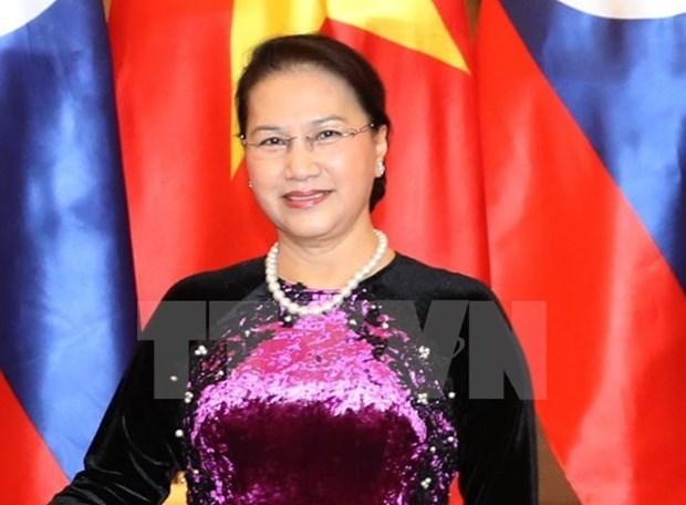 La presidente de l'AN du Vietnam termine sa visite officielle au Kazakhstan hinh anh 1