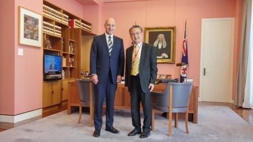 L'Australie souhaite renforcer la cooperation parlementaire avec le Vietnam hinh anh 1