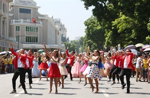 Les rues pietonnes de Hanoi se posent en label touristique hinh anh 3