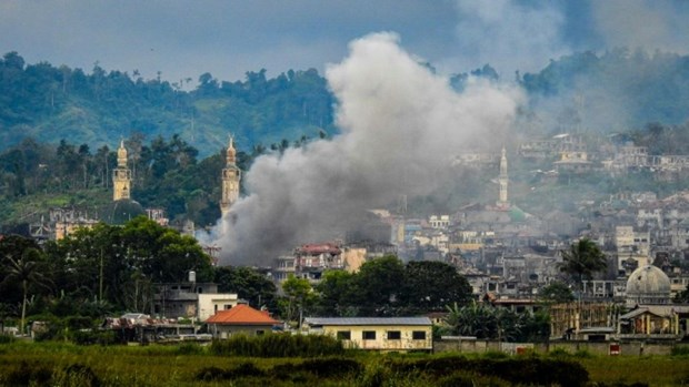 L'armee philippine libere tous les 20 otages restants a Marawi hinh anh 1