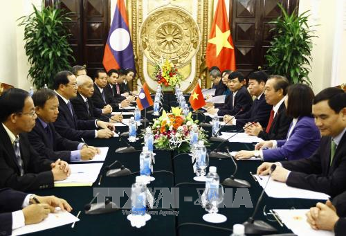 Dynamiser les relations speciales entre le Vietnam et le Laos hinh anh 1