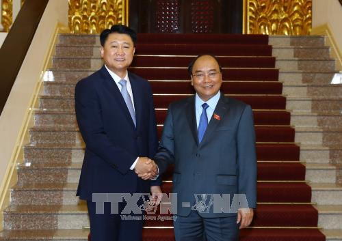 Le PM recoit le chef de l'Agence nationale de la police de la Republique de Coree hinh anh 1