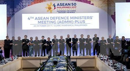 ADMM - ADMM Plus : Les ministres de la Defense conviennent de renforcer leur cooperation hinh anh 2