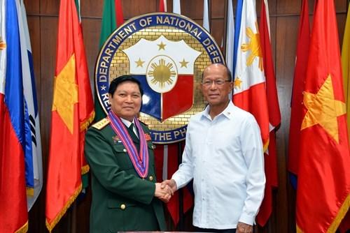 Defense : le Vietnam et les Philippines plaident pour des liens accrus hinh anh 2