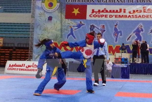 La Coupe d'ambassadeurs de vovinam a fiere allure en Algerie hinh anh 1