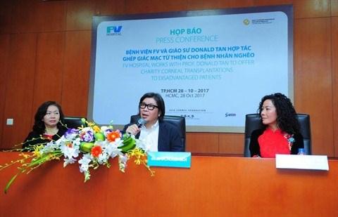 Greffes de cornee gratuites a l'Hopital franco-vietnamien de Ho Chi Minh-Ville hinh anh 1