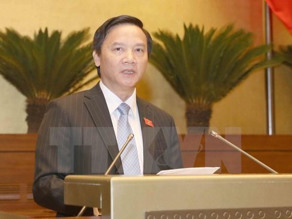 Les legislateurs examinent la reforme administrative le 30 octobre hinh anh 1