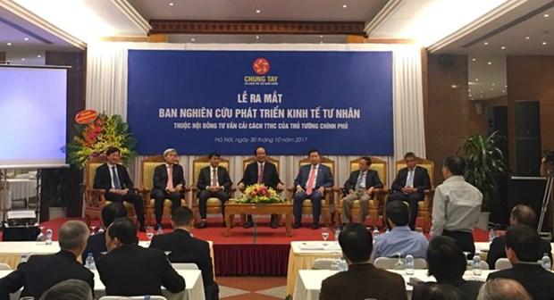 La Commission de la recherche et du developpement de l'economie privee voit le jour hinh anh 1