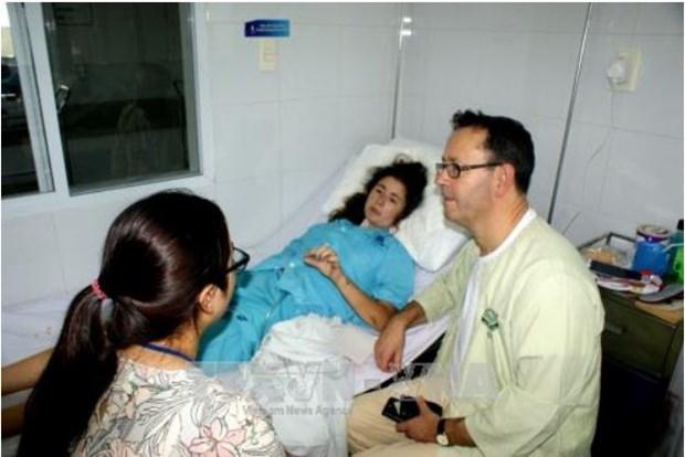 Une touriste britannique se retablit apres un accident au Centre hinh anh 1