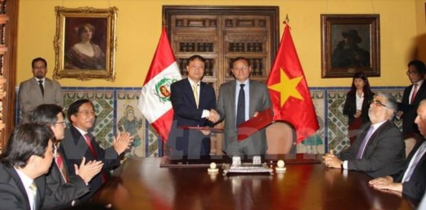Le Perou veut booster ses liens avec le Vietnam, plaide pour une ZLEAP hinh anh 1