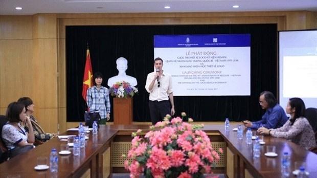 Un concours de creation du logo sur les relations diplomatiques Belgique - Vietnam hinh anh 1