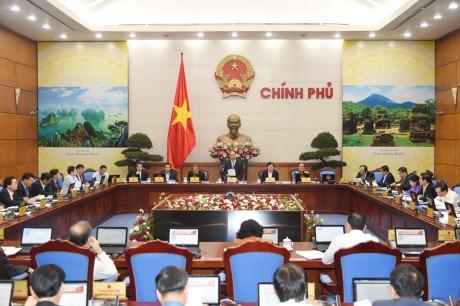 Reunion du gouvernement : le PM souligne quatre missions importantes hinh anh 1