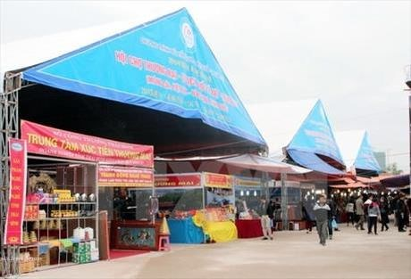 Ouverture de la foire commerciale Vietnam-Chine 2017 a Lang Son hinh anh 1