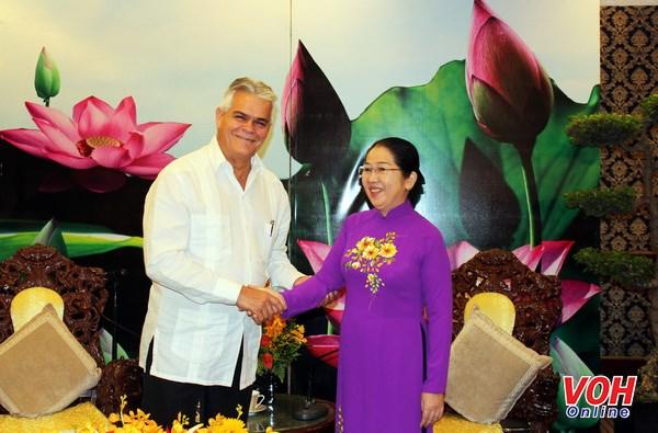 Ho Chi Minh-Ville souhaite intensifier la cooperation avec Cuba hinh anh 1