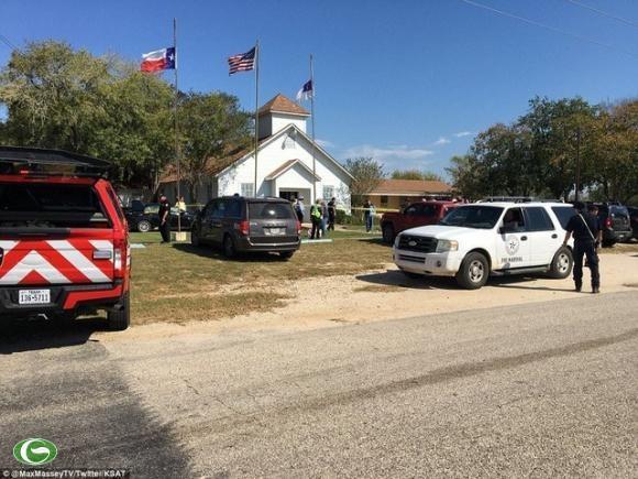 Fusillade du Texas: condoleances au president americain hinh anh 1