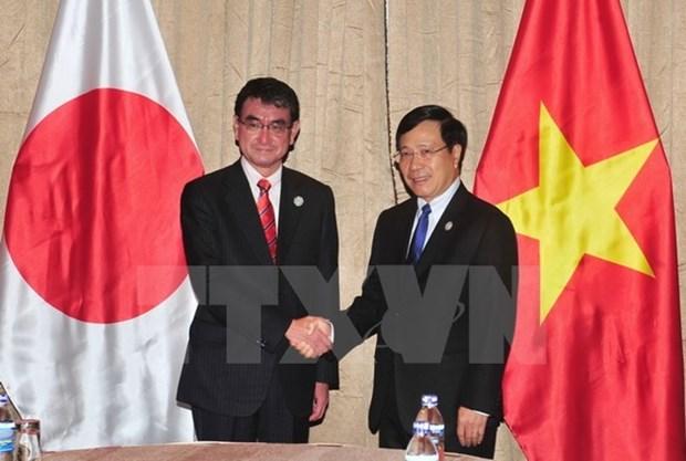 APEC 2017 : renforcement des relations avec le Japon et le WEF hinh anh 1
