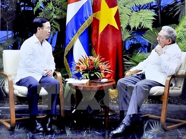 Vietnam-Cuba : renforcement de l'amitie et de la solidarite entre les Partis communistes hinh anh 1