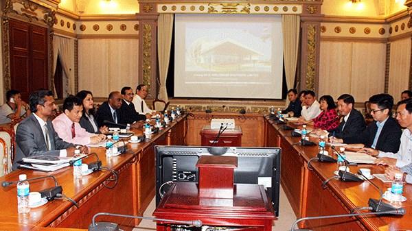 Ho Chi Minh-Ville cooperent avec l'Inde dans la lutte contre l'inondation urbaine hinh anh 1
