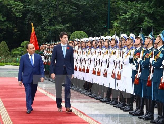 Le Vietnam et le Canada etablissent leur partenariat integral hinh anh 1