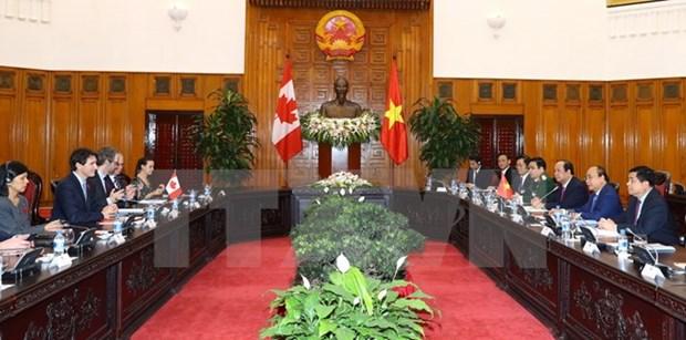 Le Vietnam et le Canada etablissent leur partenariat integral hinh anh 2