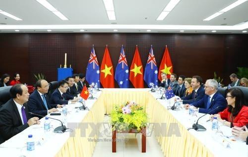 APEC 2017: Le Vietnam et l'Australie veulent forger un partenariat strategique hinh anh 2