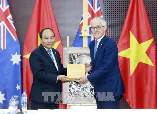 APEC 2017: Le Vietnam et l'Australie veulent forger un partenariat strategique hinh anh 1
