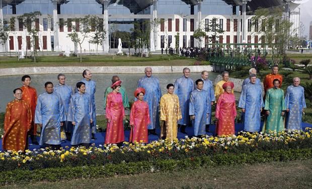 APEC 2017 : Les dirigeants brillent dans la soie vietnamienne hinh anh 2