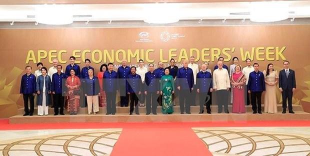 APEC 2017 : Les dirigeants brillent dans la soie vietnamienne hinh anh 1