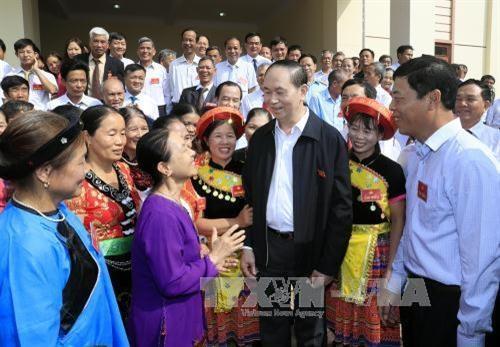 Le president Tran Dai Quang exhorte a promouvoir les mouvements d'emulation patriotique hinh anh 2