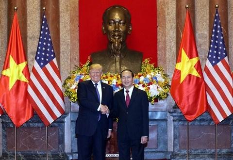 La Maison Blanche salue la visite du president Trump au Vietnam hinh anh 1