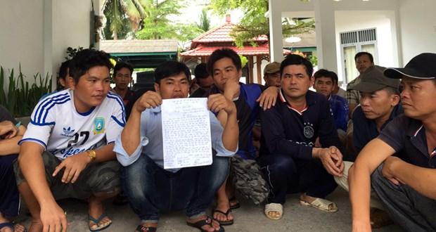 Cinq capitaines vietnamiens devant la justice indonesienne hinh anh 1
