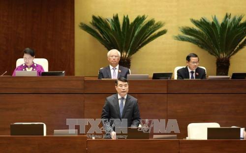 AN: Le gouverneur de la Banque d'Etat repond aux questions des deputes hinh anh 1