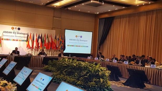 L'ASEAN et l'UE dialoguent sur le developpement durable hinh anh 1