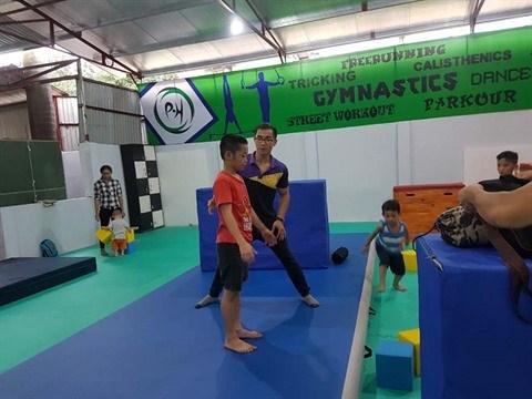 Le gymnaste Pham Phuoc Hung, les fruits de la passion hinh anh 1