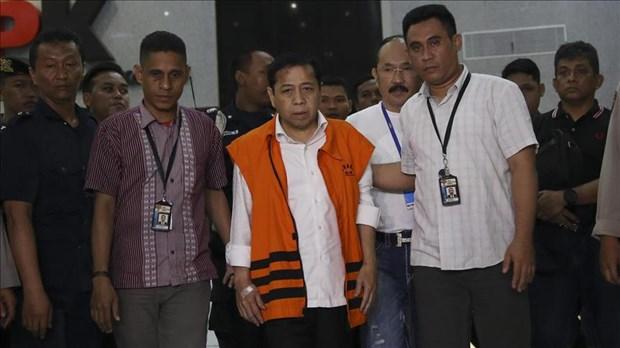 Indonesie: la Commission pour l'eradication de la corruption arrete le president du Parlement hinh anh 1