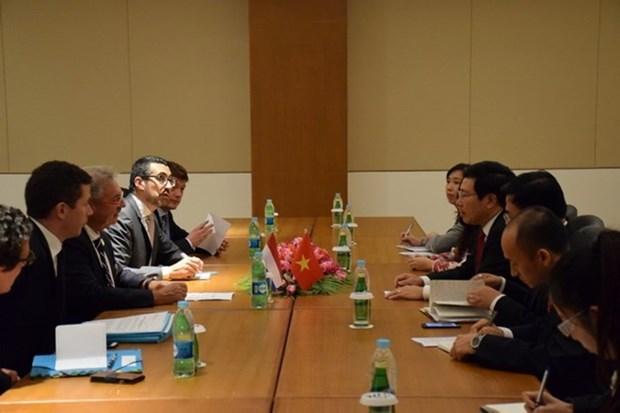 Les pays veulent renforcer leur cooperation multiforme avec le Vietnam hinh anh 3