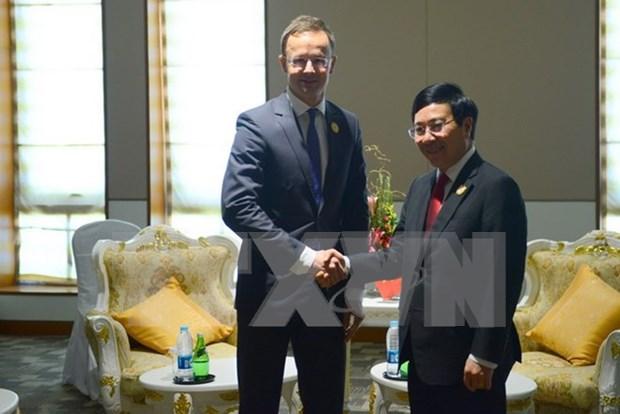 Les pays veulent renforcer leur cooperation multiforme avec le Vietnam hinh anh 4