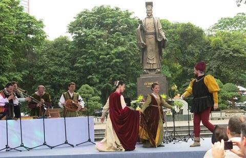A la decouverte de la culture italienne au cœur de Hanoi hinh anh 2