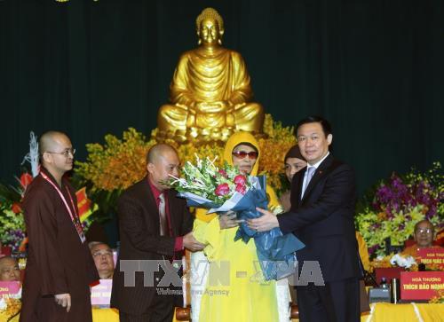 Le 8e Congres national de l'Eglise bouddhique du Vietnam s'ouvre a Hanoi hinh anh 2