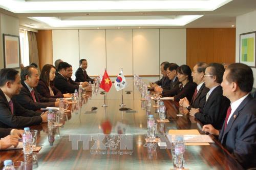 Dynamiser le partenariat de cooperation strategique Vietnam-R. de Coree hinh anh 1