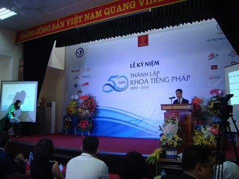 Le Departement de francais de l'Universite de Hanoi souffle ses 50 bougies hinh anh 1