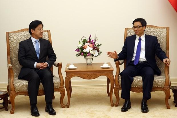 Le vice-PM Vu Duc Dam se felicite du Forum R. de Coree-Vietnam pour l'avenir hinh anh 1