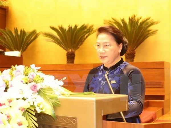 La presidente de l'AN Nguyen Thi Kim Ngan visitera Singapour et l'Australie hinh anh 1