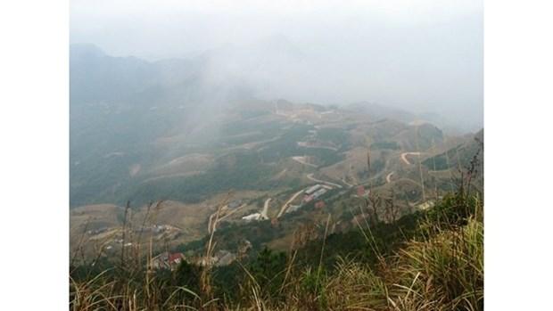 La temperature baisse a 6oC au mont Mau Son hinh anh 1