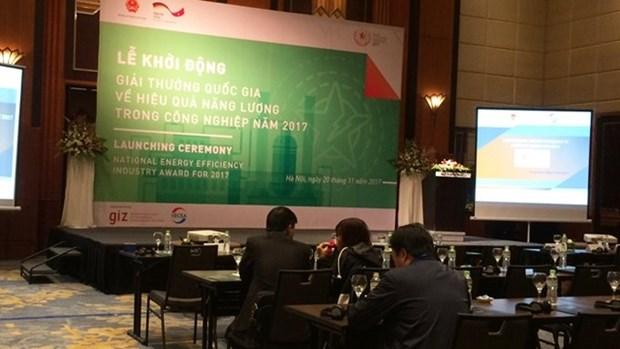 Lancement du prix national 2017 de l'efficacite energetique dans le secteur industriel hinh anh 1