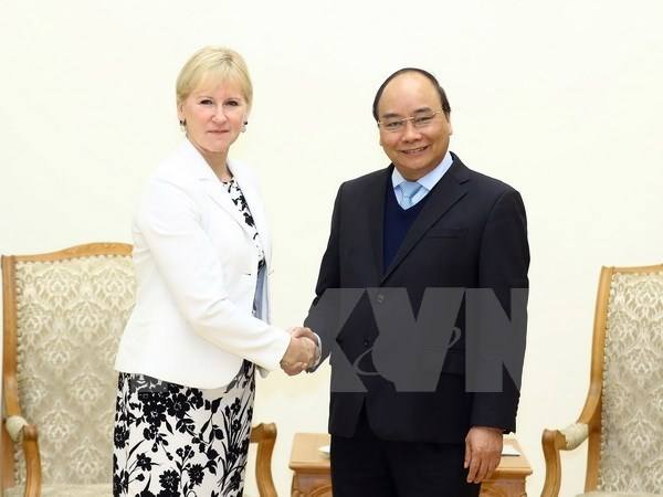 Le PM Nguyen Xuan Phuc appelle a l'expansion de la cooperation Vietnam-Suede hinh anh 1