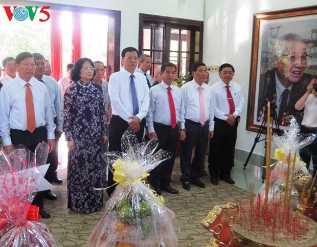 Dang Thi Ngoc Thinh a la celebration du 95eme anniversaire de l'ancien PM Vo Van Kiet hinh anh 1