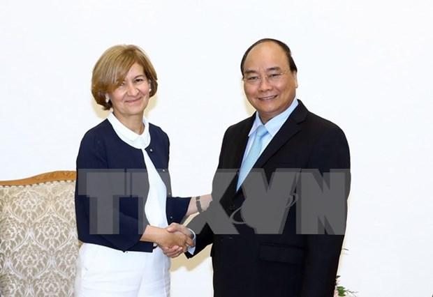 Le Premier ministre recoit le secretaire d'Etat portugais des Affaires etrangeres hinh anh 1