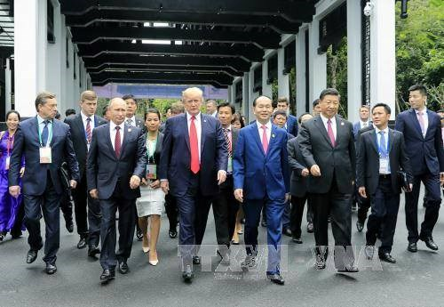 Le president Tran Dai Quang souligne le succes de l'APEC 2017 hinh anh 1